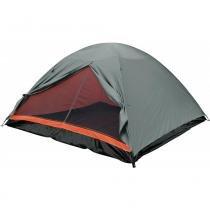 Barraca Camping Dome 6 Premium com Piso em Polietileno 102900 Laranja - Belfix - Belfix