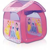 Barraca Portátil Casa Princesas  GF001A - Zippy Toys Rosa - Zippy Toys