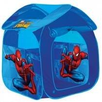 Barraca Portátil Casa Spider Man - Zippy Toys GF001C - Azul - Zippy Toys