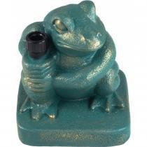Base Frog em Resina Verde 25kg para Ombrellone 17503 - Belfix - Belfix