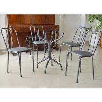 Base para Mesa com 4 Cadeiras - Metalmix Europa