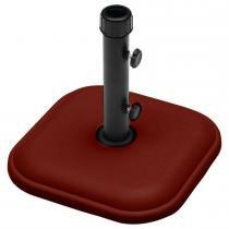 Base Quadrada em Concreto 11kg Vermelho para Ombrellone 26104 - Belfix - Belfix