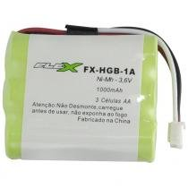 Bateria para Telefone sem Fio 1000mAh 3,6V FX-HGB-1A - Flex - Flex