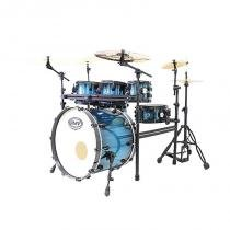 Bateria Road Up com Rack Azul PBR22656 - RMV - RMV