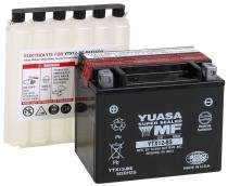 BATERIA YUASA YTX12-BS ER6N/NINJA 650/VERSYS 650/BANDIT 1200/GSX 1300 Z HAYABUSA/GSX 1300 BK BB KING/TT 600/TIGER 1050 - YUASA