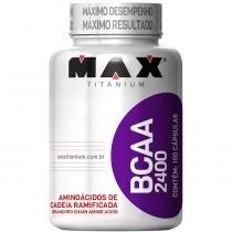 BCAA 2400 100 Cápsulas - Max Titanium - Natural - Max Titanium