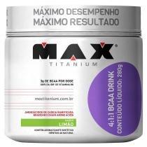 BCAA 4:1:1 Drink Pote 280g - Max Titanium - Max Titanium