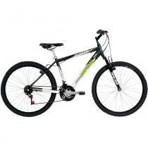Bicicleta Alumínio B-Range Susp Aro 26 Preta/Verde - Mormaii - Mormaii