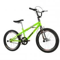 Bicicleta Aro 20 Freestyle com Rotor 360 Amarelo Neon - Track Bikes - Track Bikes