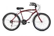 Bicicleta Aro 26 Beach Aero 21V Stone Bike - Vermelha - Stone Bike