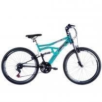 Bicicleta Aro 26 Boxxer New Suspensão DownHill Azul/Preto - Track Bikes - Track Bikes