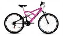 Bicicleta Aro 26 Kanguru GT 21V Stone Bike - Pink - Stone Bike