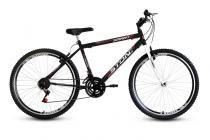 Bicicleta Aro 26 Smart GT 21V Masculina Stone Bike - Preta - Stone Bike