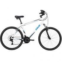 Bicicleta Caloi 100 Sport Confort Aro 26 - Cambio Shimano Quadro de Alumínio Freio V-brake
