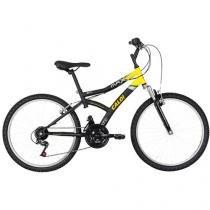 Bicicleta Caloi Max Front Aro 24 21 Marchas - Quadro de Aço Freio V-Brake