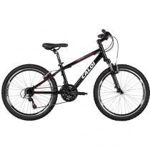 Bicicleta Caloi Wild Aro 24 21 Marchas - Câmbio Shimano Quadro de Alumínio Freio V-brake