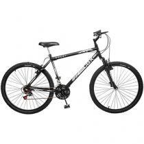 Bicicleta Colli Bike CBX 750 Mountain Bike Aro 26 - 18 Marchas Suspensão Dianteira Freio V-brake