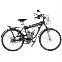 Bicicleta com Motor 2 Tempos Aro 26 UT Power 48CC Vermelho - Track Bikes - Track Bikes
