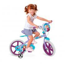 Bicicleta Disney Aro 14 Frozen - Bandeirante - Bandeirante