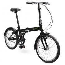 Bicicleta Dobrável Durban Bay 1 Preta - Durban