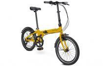 Bicicleta Dobrável Durban Bay PRO Amarela - Durban