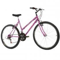 Bicicleta Feminina Serena com Cesta Aro 26 Pink - Track Bikes - Track Bikes
