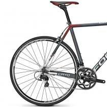 Bicicleta Focus Cayo AL 105 22 V Cinza  Vermelho 2016 - 51 - Focus