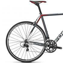 Bicicleta Focus Cayo AL 105 22 V Cinza  Vermelho 2016 - 54 - Focus