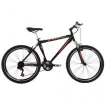 Bicicleta Houston Frontier Win Suspensão Dianteira - Aro 26 21 Marchas Quadro Aço Carbono Freio V-Brake