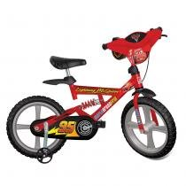 Bicicleta Infantil Aro 14 X-Bike Cars Vermelha 2325 - Bandeirante - Bandeirante