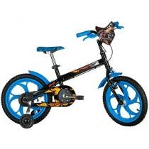 Bicicleta Infantil Caloi Kids Hot Wheels Aro 16 - Freio Cantilever/Tambor
