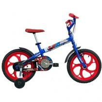 Bicicleta Infantil Caloi Spider Man Aro 16 - Freio Cantilever/Tambor