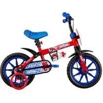 Bicicleta Infantil Caloi Spiderman Aro 12 - Freio Tambor