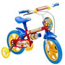 Bicicleta Infantil Fireman Aro 12 com Rodas de Apoio 98 - Colli - Colli