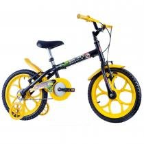 Bicicleta Infantil Masculina Dino Aro 16 Preto Fosco - Track Bikes - Track Bikes
