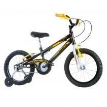 Bicicleta Infantil Masculina Track Boy Aro 16 Preto/Amarela - Track Bikes - Track Bikes