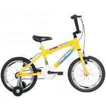 Bicicleta Infantil Top Lip Cross Aro 16 Amarela - Mormaii - Mormaii