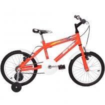 Bicicleta Infantil Top Lip Cross Aro 16 Laranja Neon - Mormaii - Mormaii
