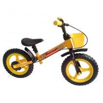 Bicicleta Infantil Track Baby sem Pedal Amarela - Track Bikes - Track Bikes