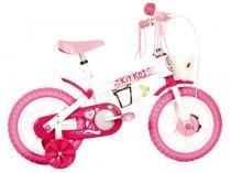 Bicicleta Infantil Track & Bikes Kit Kat Aro 12 - Freio Tambor