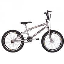 Bicicleta Masculina Aro 20 Cross Energy Prata - Mormaii - Mormaii