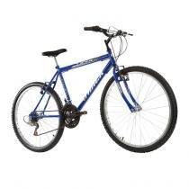 Bicicleta Masculina Viper Aro 26 18 Marchas Azul - Track Bikes - Track Bikes