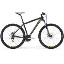 "Bicicleta Merida Big Nine 20 29"" 24 V Disco Mecânico Preto/Verde (2016) - 15 - Merida"