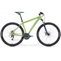 """Bicicleta Merida Big Nine 40 29"""" 27 V Disco Mecânico Verde/Azul  (2016) - TAM 17 - 17 - Merida"""