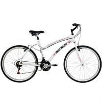 Bicicleta Mormaii Sunset Way Plus Aro 26 - 21 Marchas Quadro de Alumínio com Freio V-brake