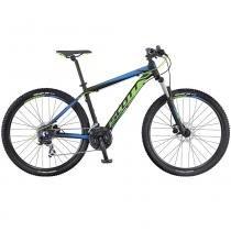 """Bicicleta SCOTT Aspect 960 Preto  Azul  Verde 29"""" - S - Scott"""