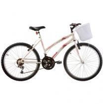 Bicicleta Track & Bikes Parati Aro 24 - 18 Marchas Freio V-brake