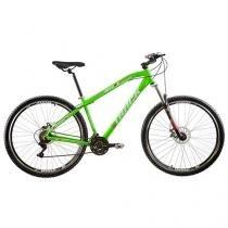 Bicicleta Track & Bikes TK 29 Aro 29 21 Marchas - Suspensão Dianteira Quadro Alumínio Freio V-brake