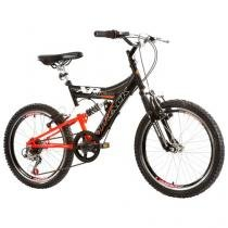 Bicicleta Track & Bikes XR 20 Full Aro 20 - 6 Marchas Freio V Brake