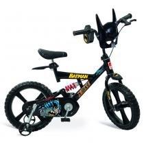 Bicicleta X-Bike Aro 14 Batman - Bandeirante - Batman